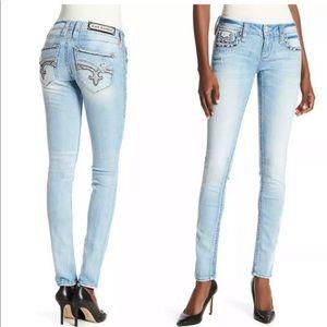 Rock Revival Skinny Bling Jeans  28 29 30 31 32
